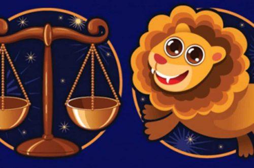 Совместимость весы и лев