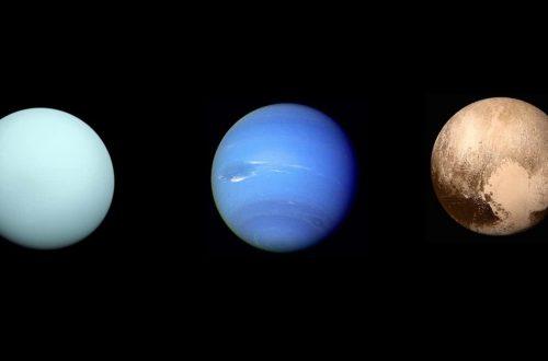 Уран, Нептун и Плутон или высшие планеты!