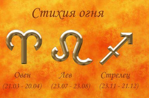 С кем совместимы огненные знаки зодиака!