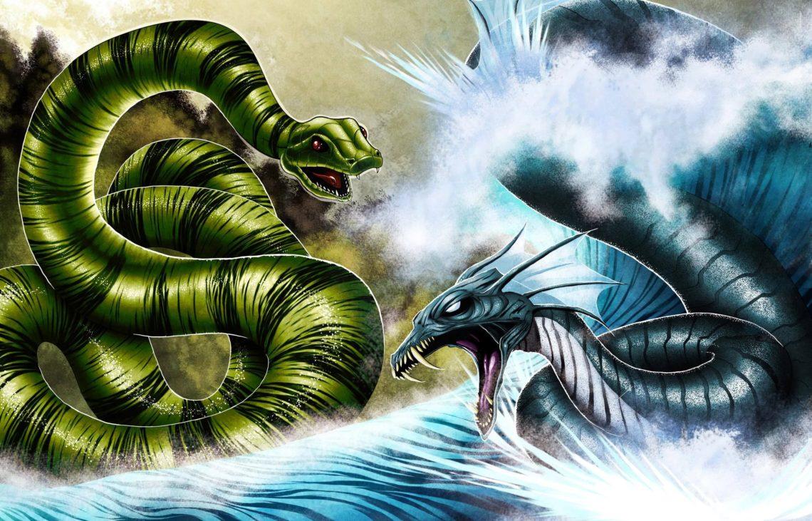 Совместимость Змеи и Дракона по году рождения!
